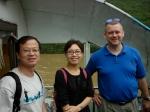 Our hosts Dan Walcott, Raymond, and Yi Linfei