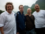 Quartet Chilling on the Boat
