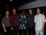 Quartet with Ambassador Harry Thomas