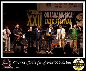 The Orsara Jazz Festival Faculty Band