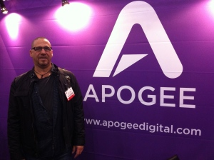 AT The AES show in NYC