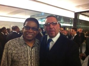 With Herbie Hancock